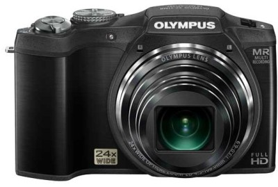 Olympus SZ 31 MR Point & Shoot Camera Black available at Flipkart for Rs.21000