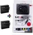 Sjcam Sj SJCAMX1000WIFIBLACK+2Battery SJCAMX1000WIFIBLACK+2Battry Sports & Action Camera (Black)