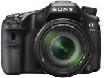 Sony ILCA 77M2M DSLR Camera with SAL18135 Lens