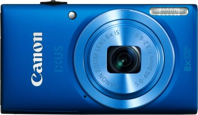 Canon IXUS 132 Advance Point and shoot Camera Blue available at Flipkart for Rs.7799