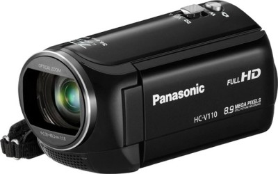 Panasonic HC V110 Camcorder Camera available at Flipkart for Rs.16400