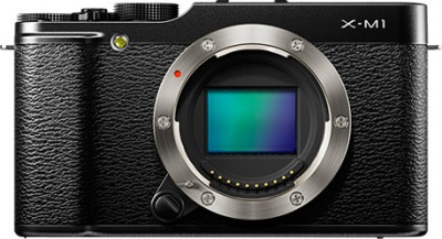 Fujifilm FinePix X M1 Mirrorless Camera Black available at Flipkart for Rs.39999