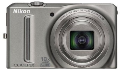 Buy Nikon Coolpix S9100 Point & Shoot: Camera