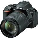 Nikon D5500 (with 18 - 140 Lens) DSLR Camera (Black)