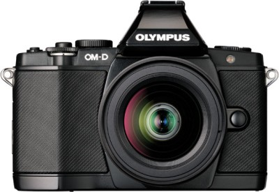 Olympus OMD EM5 Mirrorless Camera Black, Body with 10 50 mm Lens available at Flipkart for Rs.69500