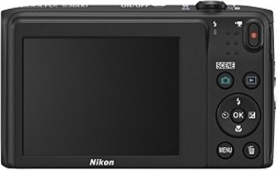 Nikon Coolpix S3600 Point & Shoot Camera