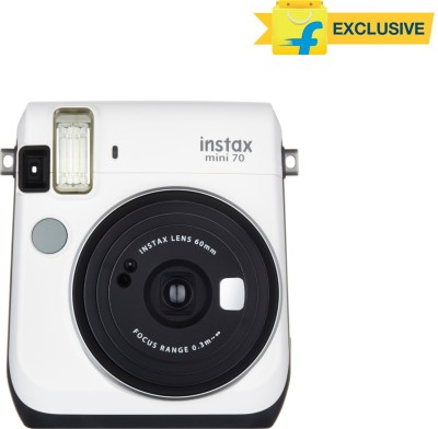 Fujifilm Instax Mini 70 Instant Camera  White  available at Flipkart for Rs.9999
