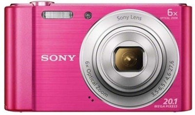 Sony CyberShot DSC W810/PC E32 Point & Shoot Camera Pink available at Flipkart for Rs.6390