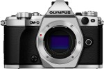 Olympus OMD E M5 Mark II Silver with 8GB Card