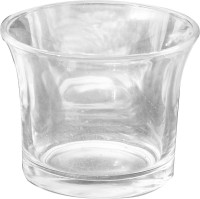Luminarc Beautiful Glass 6, 6 - Cup Tealight Holder (Clear, Pack Of 6)