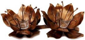 Angels Choice Iron 2 - Cup Candle Holder Set