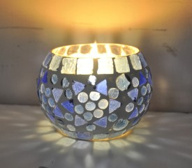 Lal Haveli Decorative Morrocan Glass 1 - Cup Tealight Holder