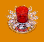Pindia Fancy Home Decor Flower T Lite Stand