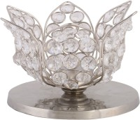 Rajrang Crystal 1 - Cup Candle Holder (Clear, Pack Of 1) - CTHEFCX2ZZZ7YXVC