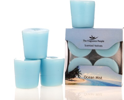 Fresh Accent Voitve Candle (Blue, Pack Of 6)