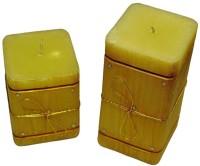 Tvish Candles Dori D'Montes Candle (Beige, Pack Of 2)