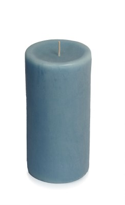 Silverlight Ocean Breeze Scented Pillar Candle (Blue, Pack Of 1)