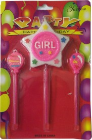 Atpata Funky Girl Star Candle