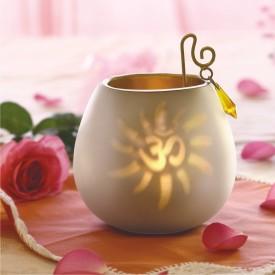 Borosil Decorative Tea Light Candle (White, Pack Of 1)