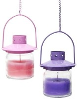 Gifts By Meeta Cute Lanterns For Diwali Candle (Multicolor, Pack Of 2)