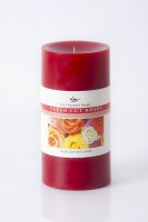 The Fragrance People Large Pillar 3 X 6 Rose Candle (Red, Pack Of 1)
