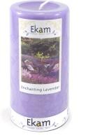 Ekam Pillars Candle (Purple, Pack Of 1)
