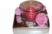 Fragrance Concoction Strawberry Fragrance Votive Candle (Pink, Pack Of 1)