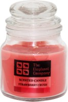 The Elephant Company Strawberry Crush Yankee Jar Candle (Pink, Pack Of 1)