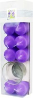 The Candle Shop Votives Candle (Purple, Pack Of 8)