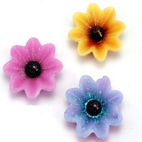 Ghasitaram Gifts Set Of 3 Floating (Flower) Candle (Multicolor, Pack Of 3)