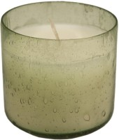 GolMaalShop Glass Wax Votive Candle (White, Pack Of 1)