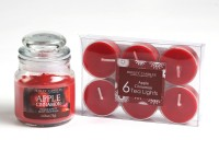 Hosley G97312 Candle (Red, Pack Of 7)