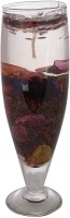 A33 Store Designer Gel Glass Candle (Multicolor, Pack Of 1)