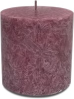 Pride & Joy Arts Marble Effect Wax Candle (Purple, Pack Of 1)