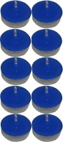 Atorakushon Scented Smokeless Tealight T-Lite Pack Of 80 Candle (Blue, Pack Of 80)
