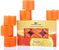Fresh Accent Voitve Candle (Orange, Pack Of 4)