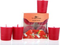 Fresh Accent Voitve Candle (Red, Pack Of 6)