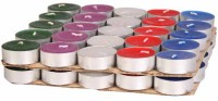 Skycandle Tea Light Candle (Multicolor, Pack Of 50)