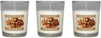 Fish Scented_Votive_Sandalwood Candle (White, Pack Of 3)