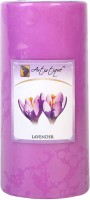Artistique 2.8x6 Pillar Lavender Fragrance Candle (Purple, Pack Of 1)
