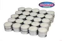 Silverlight Tealight(12 Gms) Candle (White, Pack Of 50)