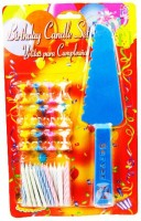 The Candle Shop Birthday Candle (Multicolor, Pack Of 49)