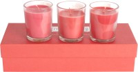 Marvel Living Votive Candle (Red, Pack Of 3)