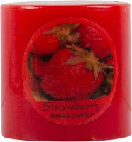 R.P.Pooja Ghar Fragrance Small Candle (Red, Pack Of 1)