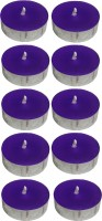 Atorakushon Scented Smokeless Tealight T-Lite Candle (Purple, Pack Of 40)