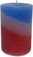 Pride & Joy Arts Rustic - Triple Tone Candle (Multicolor, Pack Of 1)