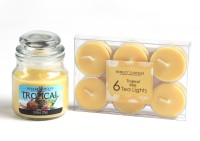 Hosley G97315 Candle (Yellow, Pack Of 7)