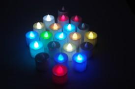 Gran 24 Pcs Flameless LED T-lite Candles Candle