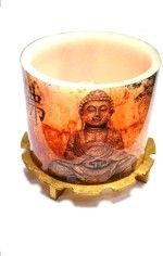 Tvish Candles Candles Tvish Candles Buddha Glow Candle