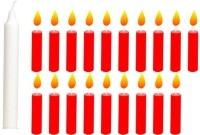 Besure Birthday Candle (White, Red, Pack Of 20)